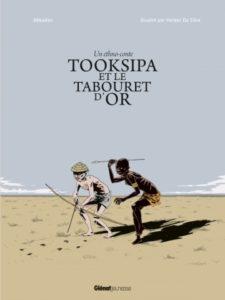 Couverture de l'album de Jean-Marie Hosatte - Tooksipa et le tabouret d'or