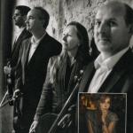 Fanny Cottençon et le quatuor Ludwig.
