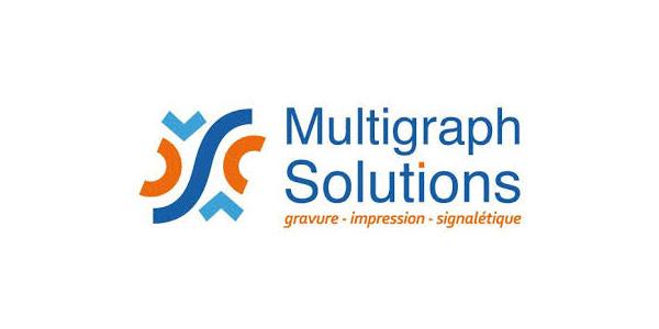 Logo Imprimerie Multigraph Solutions, partenaire de Fréquence Lire