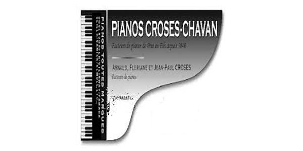 Logo Pianos Croses, partenaire de Fréquence lire