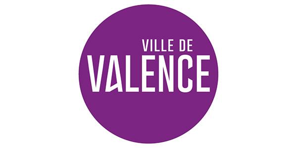 Logo de la ville de Valence, partenaire privilégié de Fréquence Lire