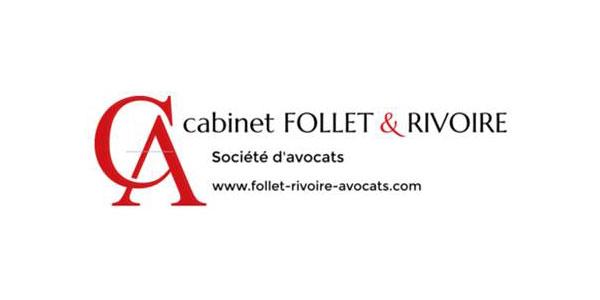 Logo Cabinet Avocats Rivoire et Follet, Valence - Romans - Livron - Pierrelatte (Drôme)