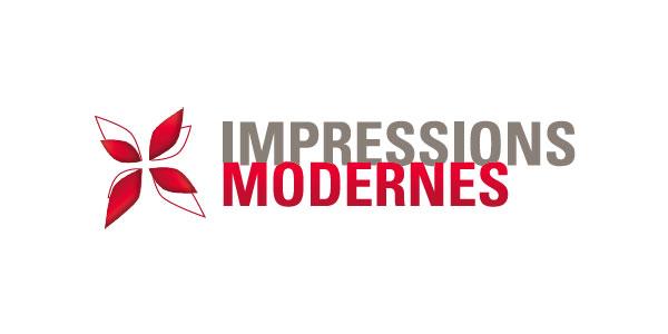 Logo Impressions Modernes Guilherand (Ardèche) - Bien plus que du papier, imprimons avec passion