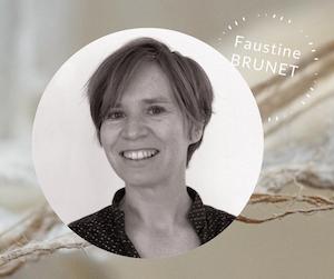 Auteure et illustratrice de juin 2021 - Photo d'identité de Faustine BRUNET